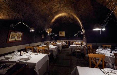 instalación de luces en bóveda