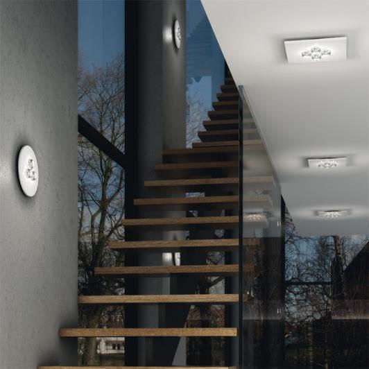 Contemporary ceiling light / LED