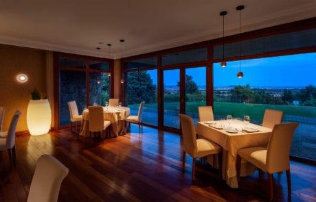 Sistema de luces para comedor restaurante
