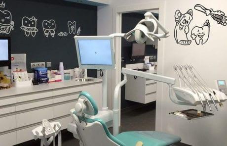 Proyecto de iluminación para clínica dental, iluminación decorativa
