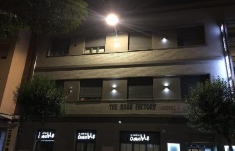 Iluminación exterior. Proyectos personalizados para Hotel
