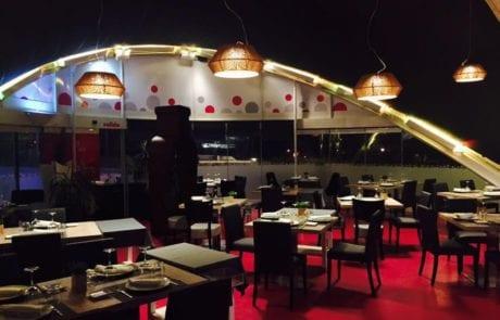 Lámparas suspendidas para restaurante, iluminación decorativa en proyectos de iluminación personalizados