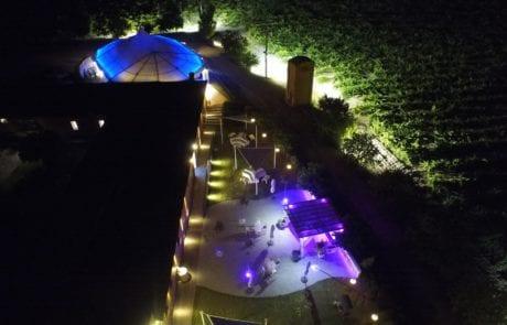 Especialistas en iluminación exterior para empresas, iluminación decorativa para Finca La Leyenda