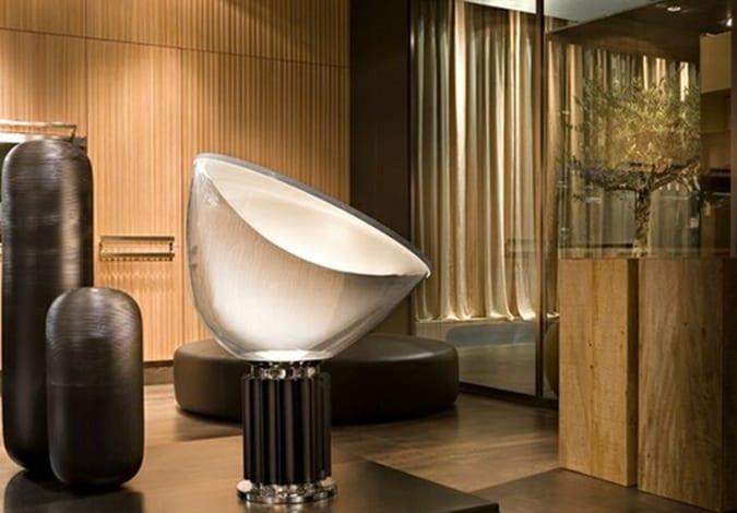 Lámpara de sobremesa, iluminación exlusiva