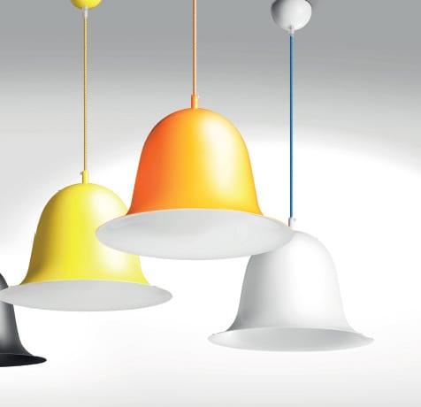 Venta de lámparas colgantes de techo de diferentes colores en Valladolid