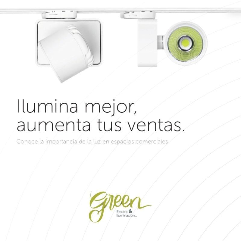 Iluminación comercial para tu negocio