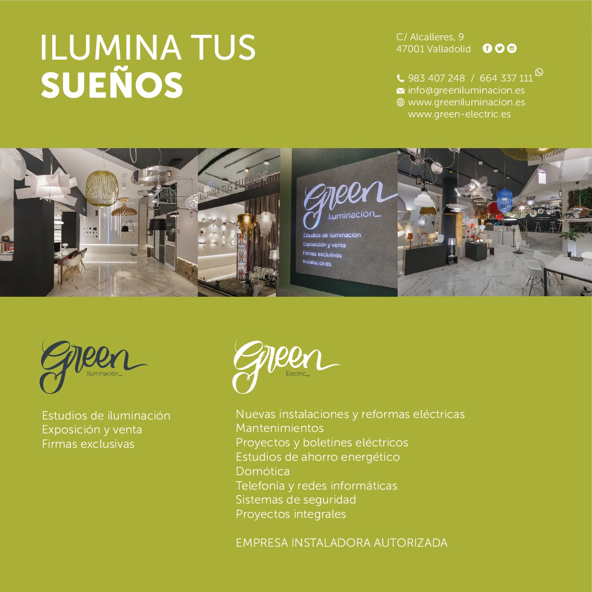 Ilumina tus sueños en la tienda Green Iluminación