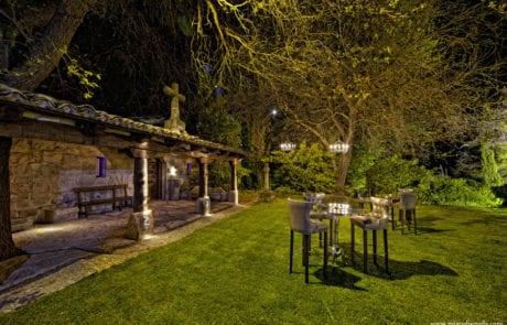 Iluminación decorativa exterior, desarrollo de proyectos de iluminación en jardines