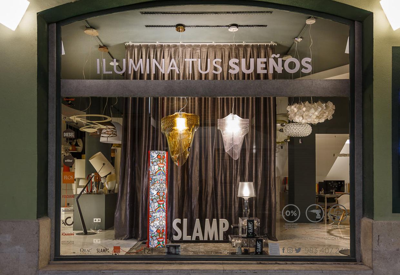 Tienda de venta de iluminación en Valladolid