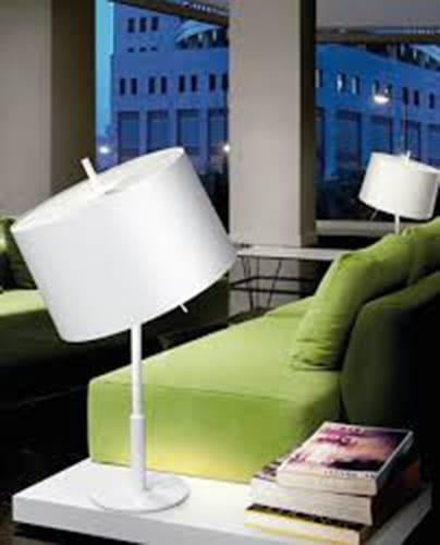 Lámpara de sobremesa de diseño. Lámpara Infinito de Massmi. Distribuidores oficiales Massmi en Valladolid