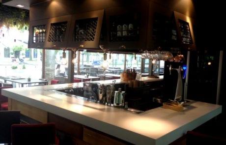 Desarrollo de proyecto de iluminación para cafetería utilización de apliques de pared de diseño