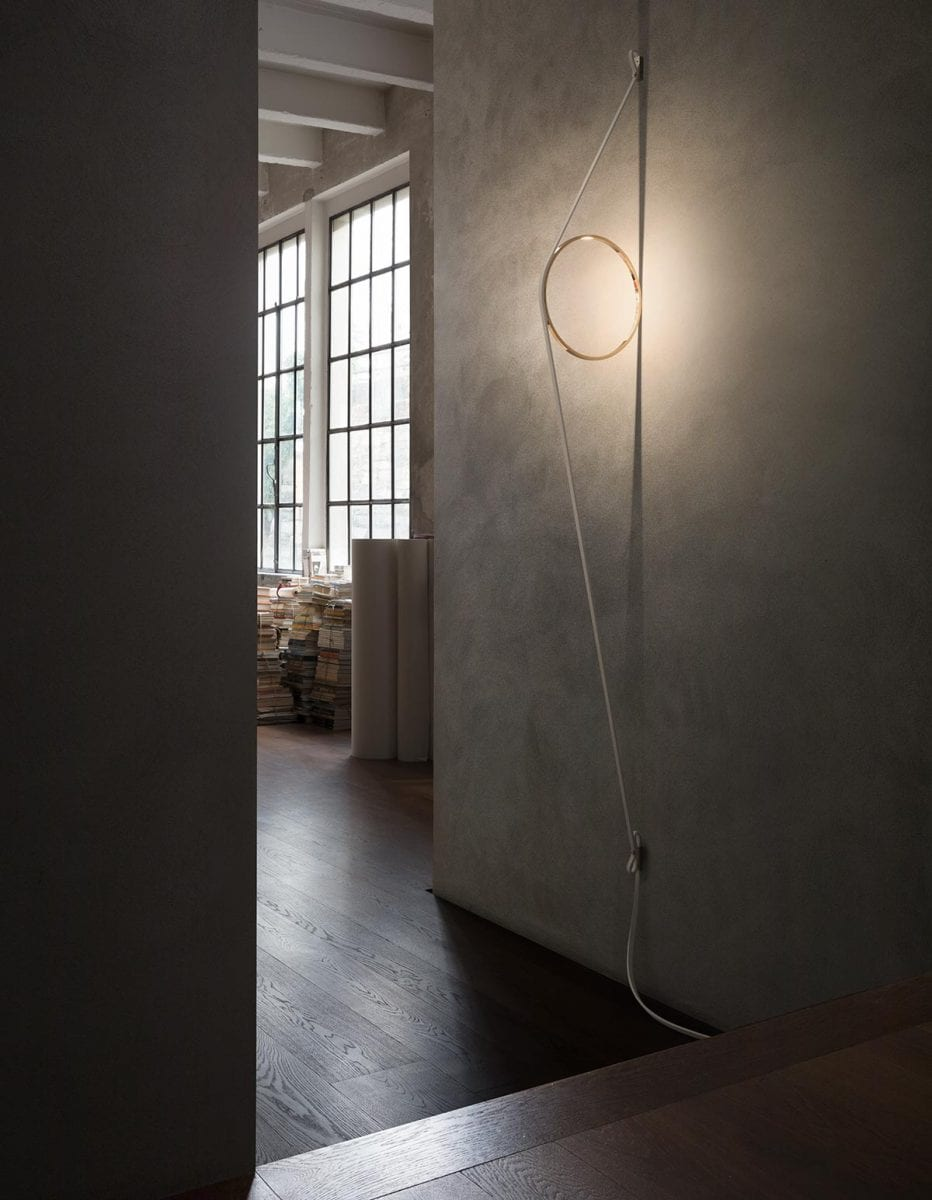 Exposición de la firma Flos. Lámparas de diseño