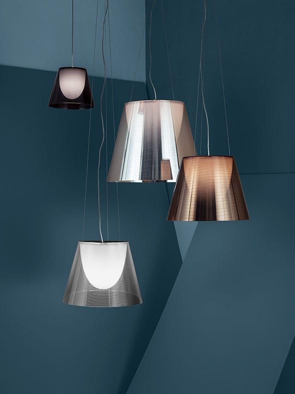 Lámparas colgantes Flos. Proveedores de lámparas de diseño en Valladolid