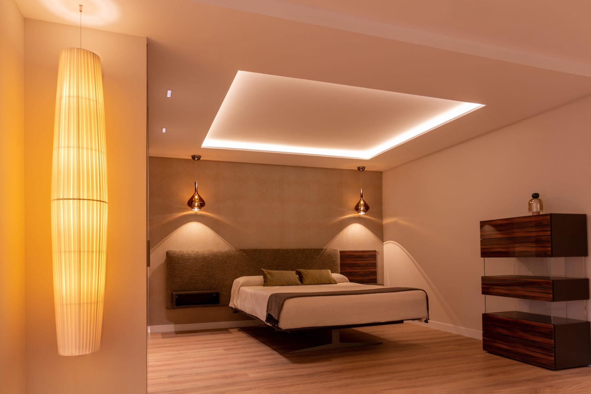 Proyectos de iluminación interiores