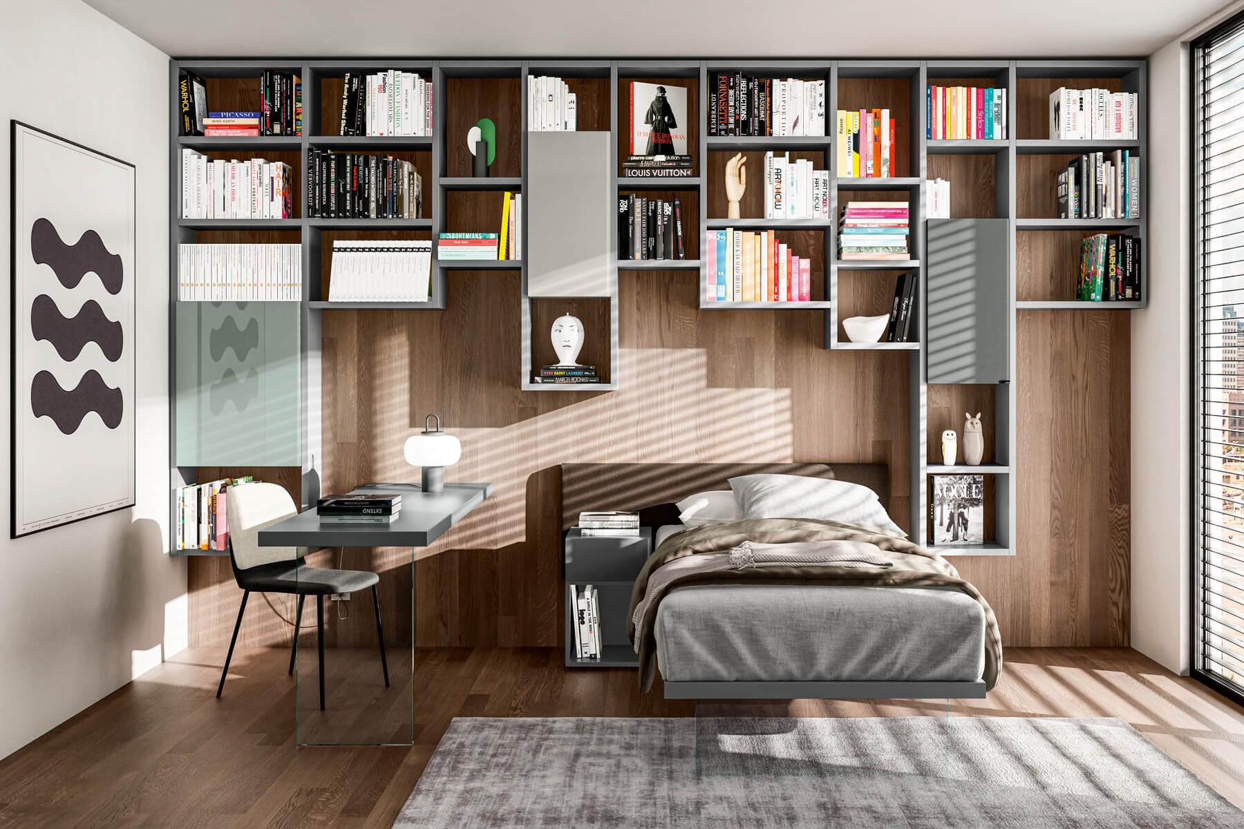 letto-singolo-cameretta-con-libreria-1