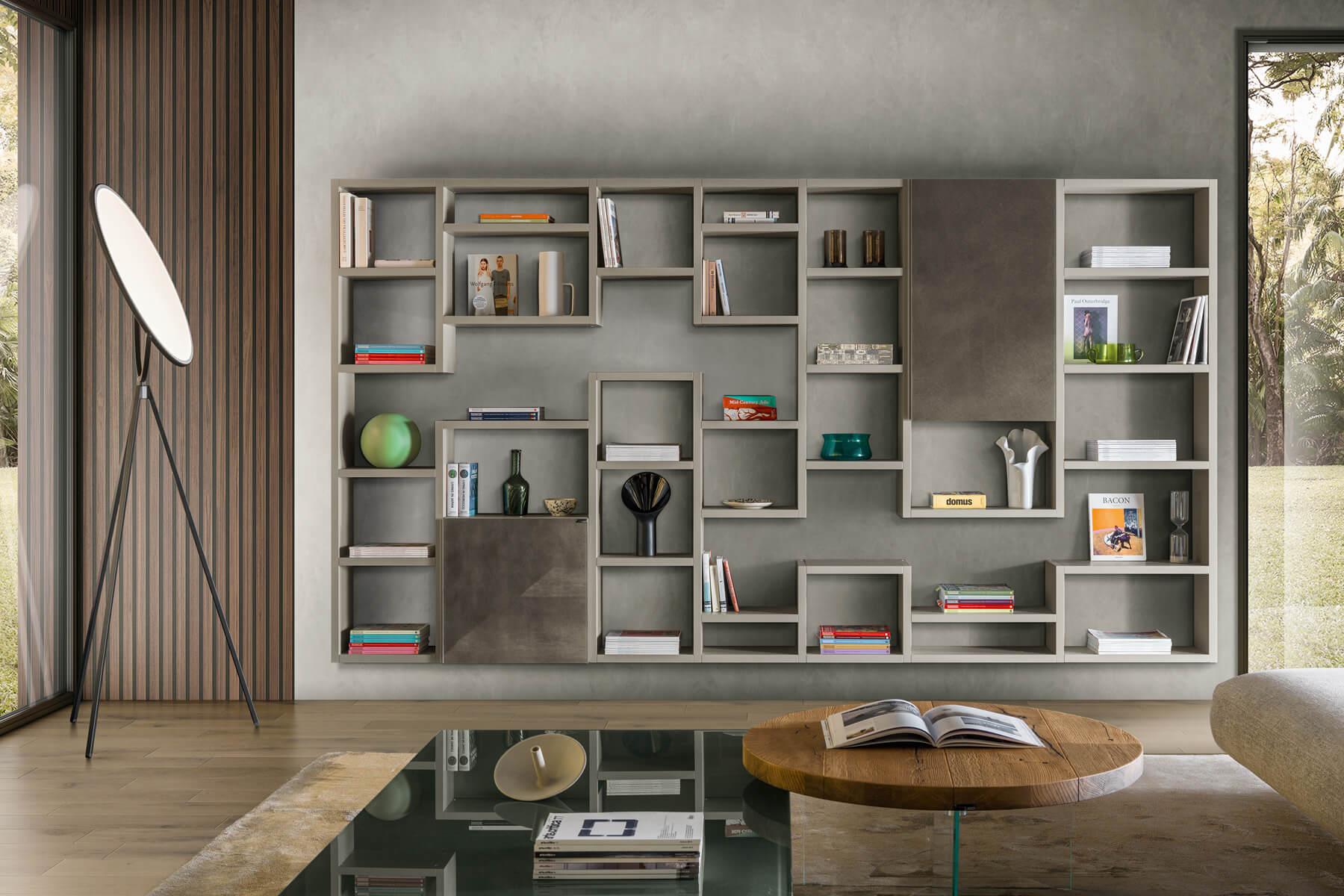 libreria-bianca-soggiorno