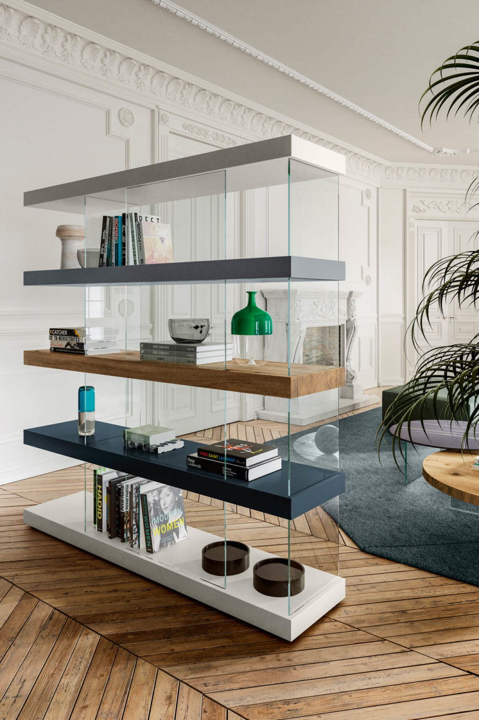 libreria-legno-elegante
