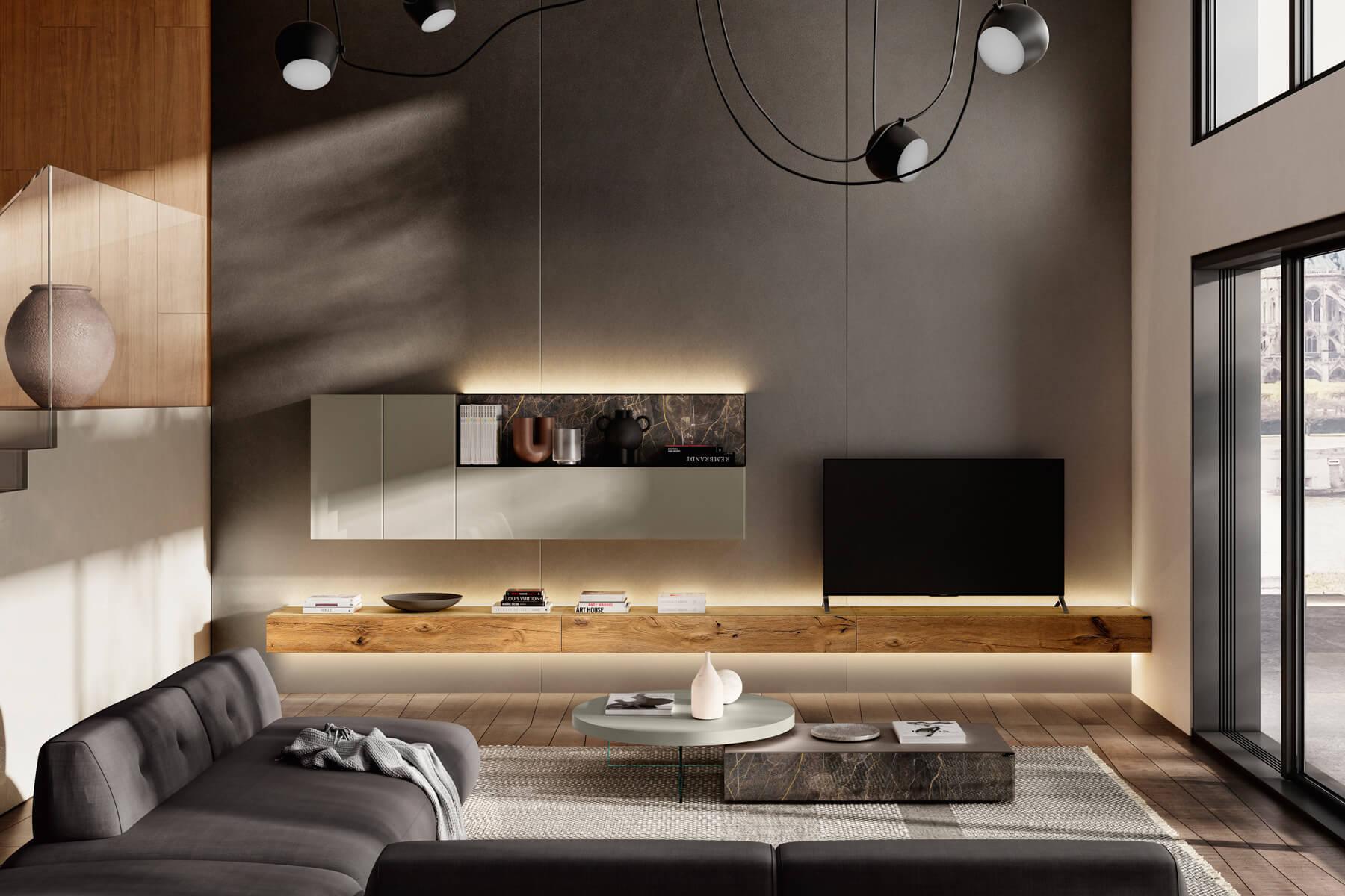parete-attrezzata-bianca-e-legno-1
