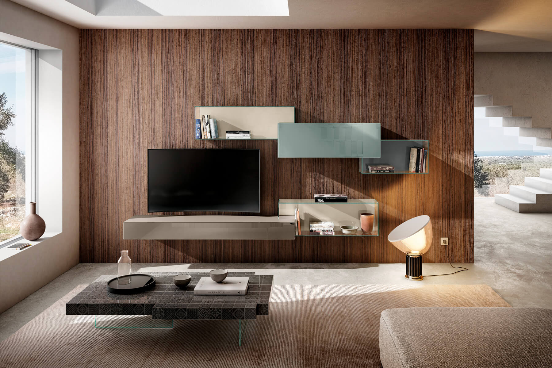 parete-attrezzata-soggiorno-colorata-1