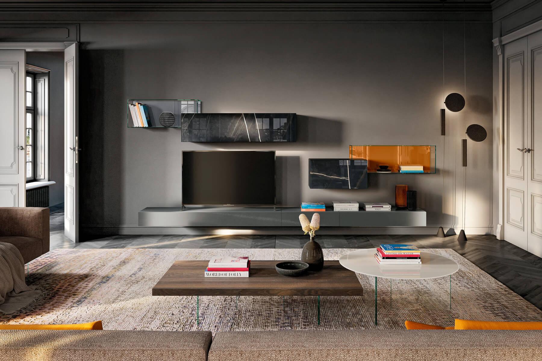 parete-attrezzata-soggiorno-moderna