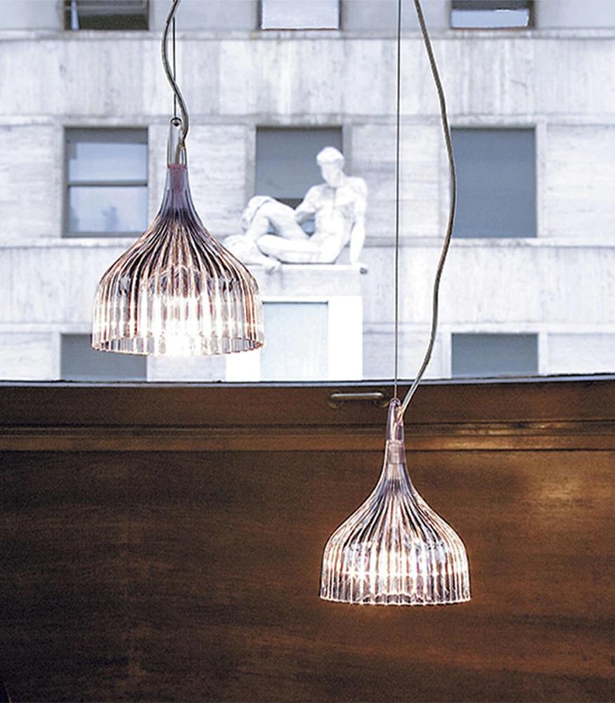 iluminación lámpara de techo Kartell en Valladolid