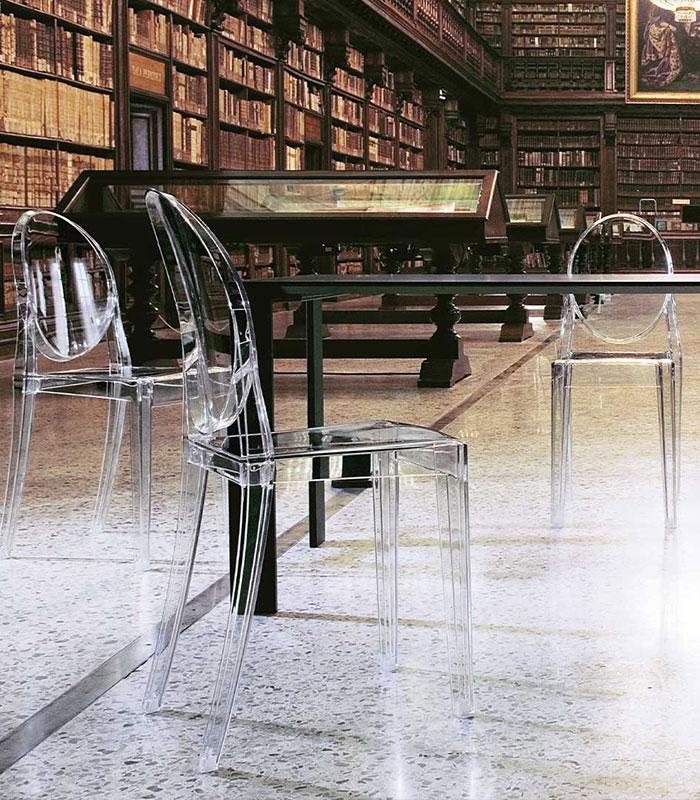 sillas de diseño transparentes Kartell
